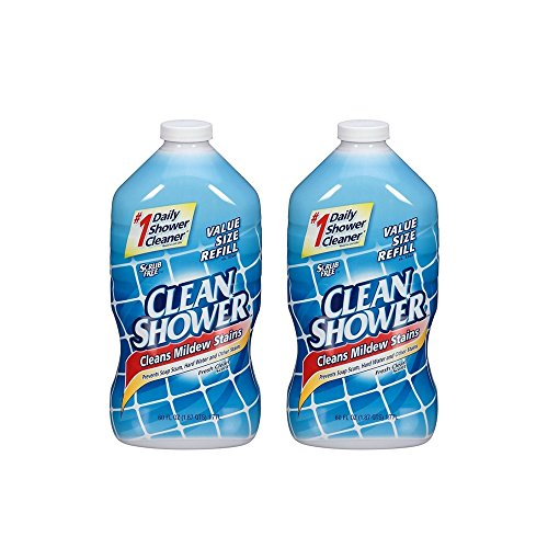 CLEAN SHOWER REFILL 60OZ by CLEAN SHOWER MfrPartNo 00001 (2 Pack)