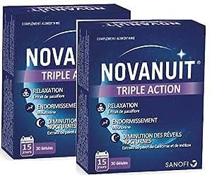 Novasante Novanuit Triple Action 2 X 30 Capsules