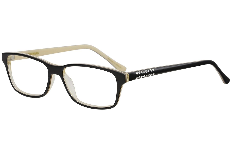 VERA WANG Eyeglasses SAGATTA Black 54MM