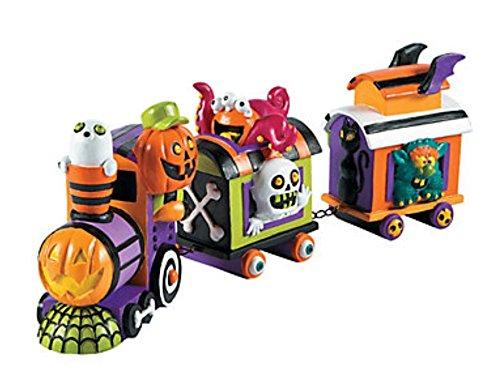 Monster Halloween Train - Table Centerpiece 17 1/2