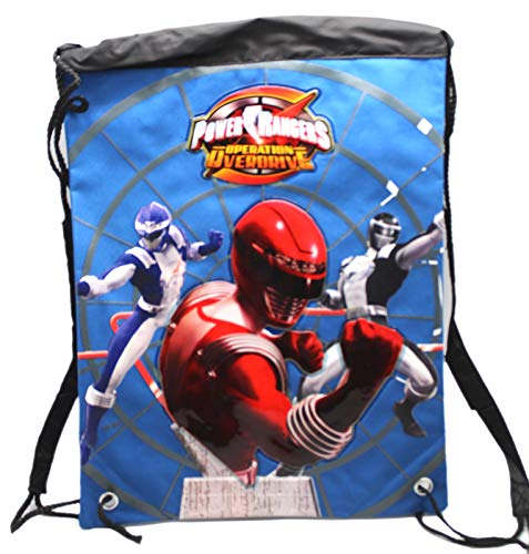 Power Rangers: Operation Overdrive Blue/Black Drawstring Backpack