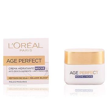 LOreal Paris Age Perfect, Crema Hidratante de Noche, Pieles Maduras - 50 ml