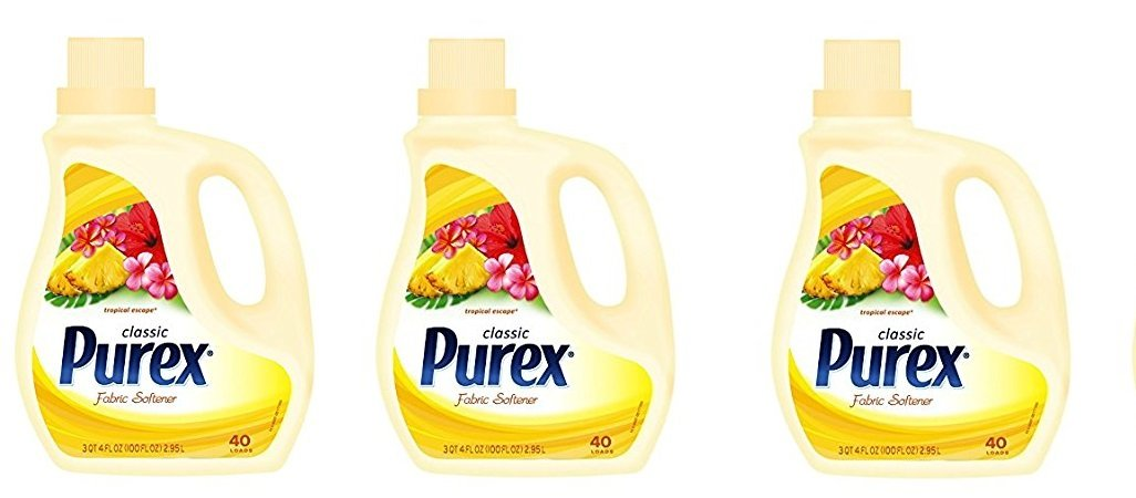 Dial 1738578 Purex Liquid Fabric Softener Tropical Escape 100 oz Bottle (Pack of 4) (3-(Pack of 4))