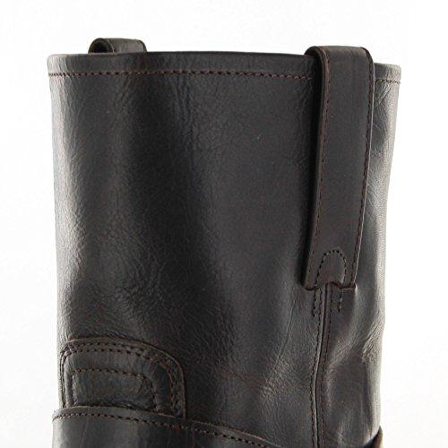 Sendra Boots 9795 - Biker Boots de cuero hombre marrón - Chocolate