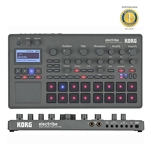 Korg Electribe Music Production Station with Microfiber and Free EverythingMusic 1 Year Extended Warranty by Korg