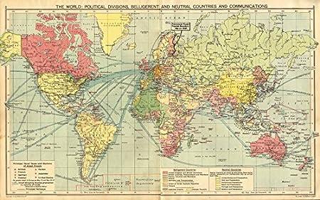 WORLD WAR 2. Belligerent/Neutrals Naval bases Occupied Poland ...