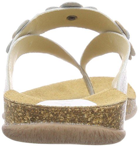 Ouvert argent Silber Afflow Bout Femme Kickers zxSqCE