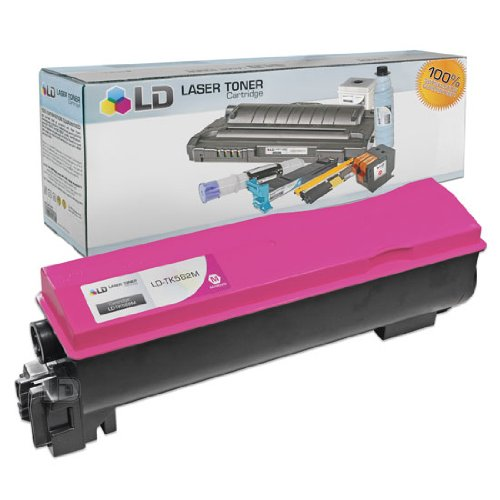 LD© Kyocera-Mita Compatible TK582M Magenta Laser Toner Cartridge for use in FS-C5150Dn, and P6021cdn Printers