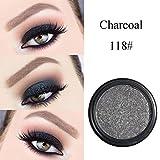 Powder Eyeshadow Palette,Lavany Single Baked Eye Shadow Powder Palette in Glitter Shimmer Metallic Colors Optional,Eyeshadow Makeup tools (R)