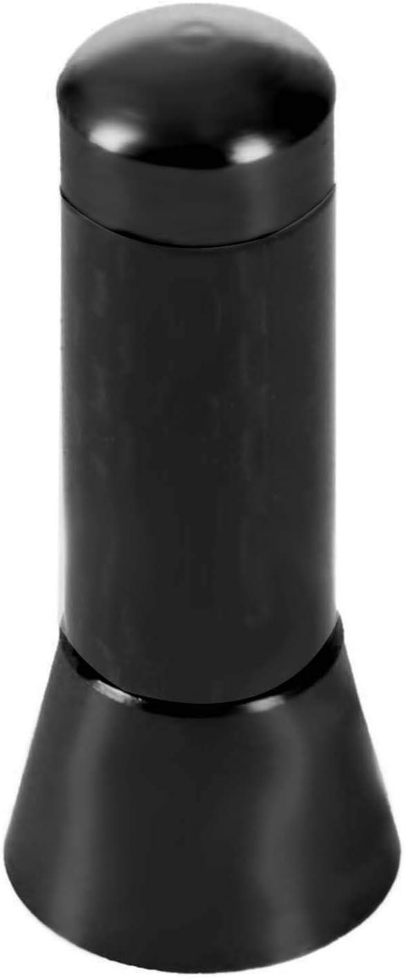VYNBDA CARBON CAR AERIAL BEE STING MAST ANTENNA Air ARIAL RADIO STUBBY 3.5 black
