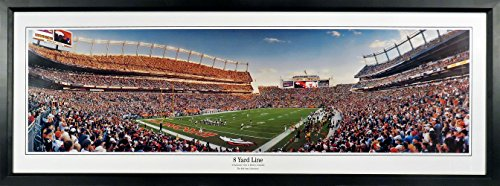 Denver Broncos Sports Authority Field at Mile High Stadium Panoramic Framed