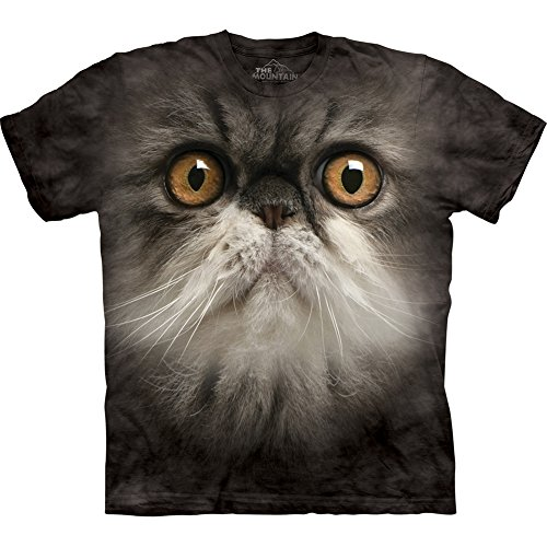 The Mountain Furry Face Cat Child T-shirt S
