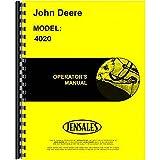John Deere 4020 G LP Dsl Standard & RC (0-90999) OEM Operators Manual [Paperb...