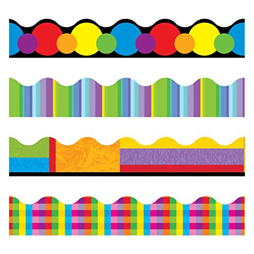 Trend Enterprises Color Collage Trimmer Variety Pack (T-92908)