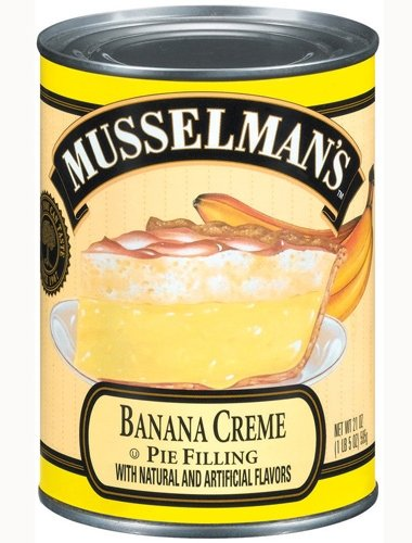 - Musselman's Banana Creme Pie Filling 21 Oz (Pack of Two)