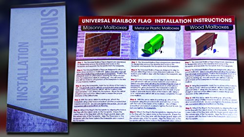 Universal Mailbox Flag