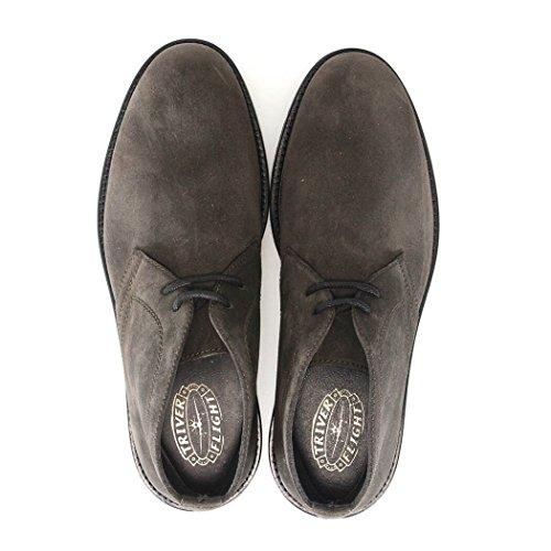 Stivali Desert Boots Da Uomo In Pelle Scamosciata Grigi 99302 Da Uomo Per Il Triver