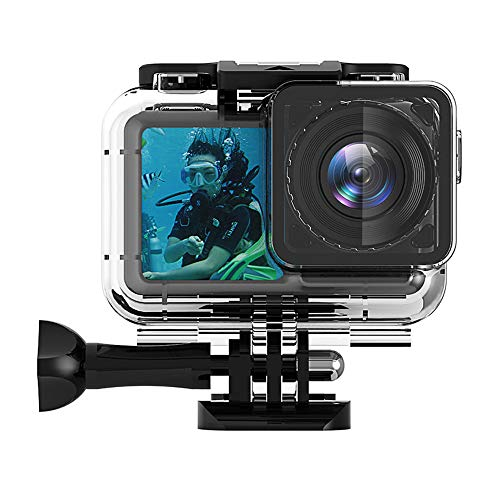 Waterproof Housing Case for DJI OSMO Action Camera, Underwater Photography Hard Diving Protective Housing Shell Accessories Kit for OSMO Sports Cam, Up to 200FT/61M (Best Camera For Underwater Photography 2019)