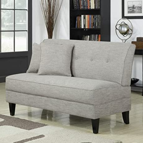 Bayonet Loveseat Color Barley Tan Linen