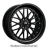 XXR 521 Flat Black (17x7) +38 (4x100/4x4.5)