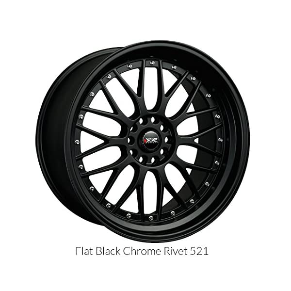XXR-521-17-Flat-Black-Wheel-Rim-5×100-5×45-with-a-38mm-Offset-and-a-731-Hub-Bore-Partnumber-52177102