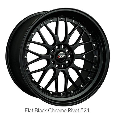 XXR 521 Flat Black (18x8.5) +35 (5x100/5x4.5) ()