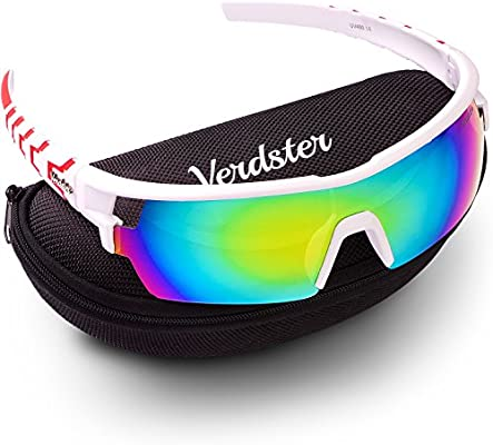 fe48998f30 Verdster TourDePro Sunglasses for Men and Women - Sporty Ski Shades - UV  Protection Shades - Pack of Accessories - Great for Ski
