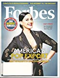 Forbes magazine - July 20, 2015 - Katy Perry: America's Pop Export Cover +Chef Gordon Ramsay + Jackie Chan + What Makes a Great Virtual Meeting + alot more!