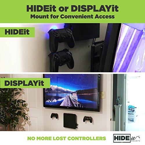 Hideit Uni C Mount 2 Pack Universal Controller Wall