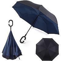Paraguas invertido Plegable ADVERS Inverso Reverso Doble Capa