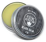 #4: BEST DEAL Beard Balm with Argan Oil & Mango Butter - Styles, Strengthens & Softens Beards & Mustaches - Citrus Scent Leave in Conditioner Wax for Men by Viking Revolution
