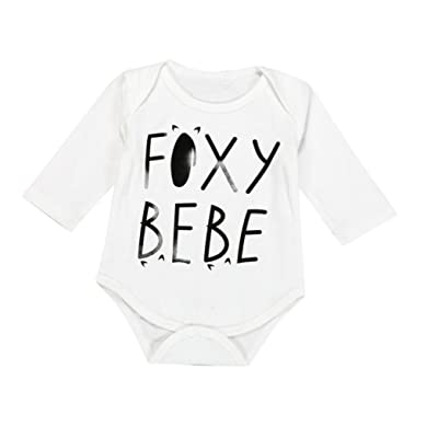 Baby's Clothes, Mchoice Newborn Baby Boys Girls Cute Fox Bodysuit Long Sleeve Romper Jumpsuit Clothes