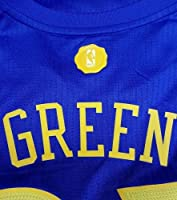 ee9645a4528 Draymond Green Signed Jersey - Swingman Xmas Blue XL WITNESSED - JSA  Certified - Autographed NBA. Loading Images.