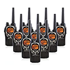 The Midland GXT1000VP4 two way radio adds emergency prepardness functionality to Midland's most powerful consumer two way radio. Each radio has 22 selectable standard channels, plus 28 extra channels for extra privacy with 36 miles of range i...