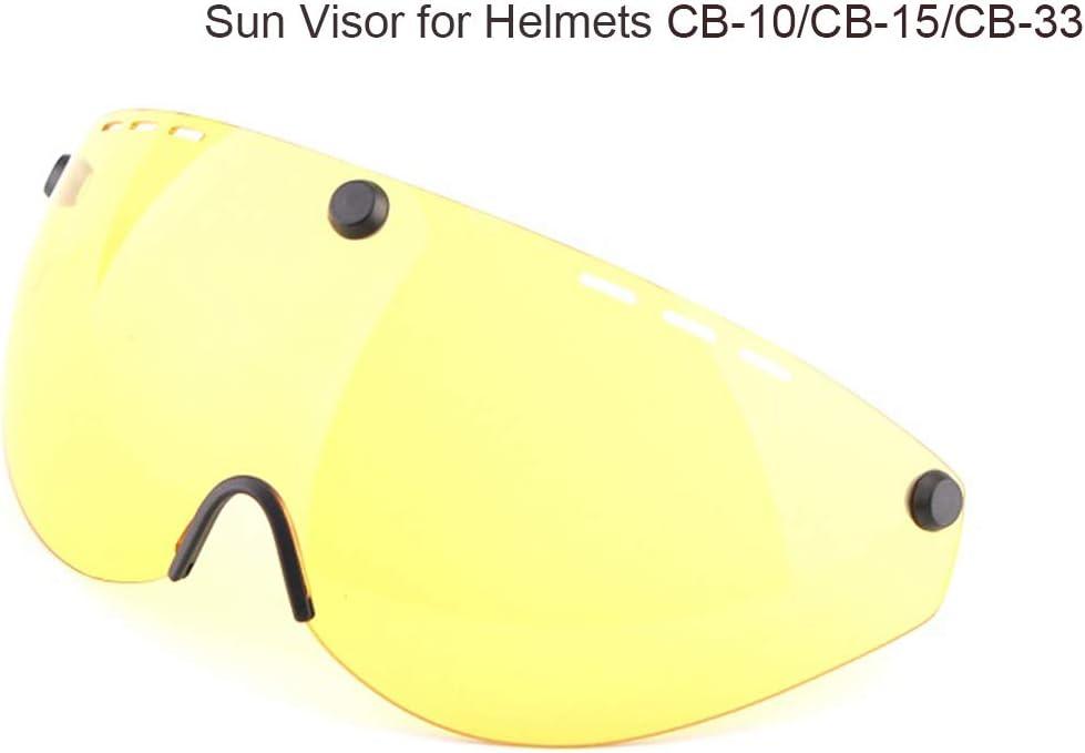 Cairbull Casco Unisex Adulto Casco de Ciclismo Equipado con luz LED//Visera//Gafas de Sol