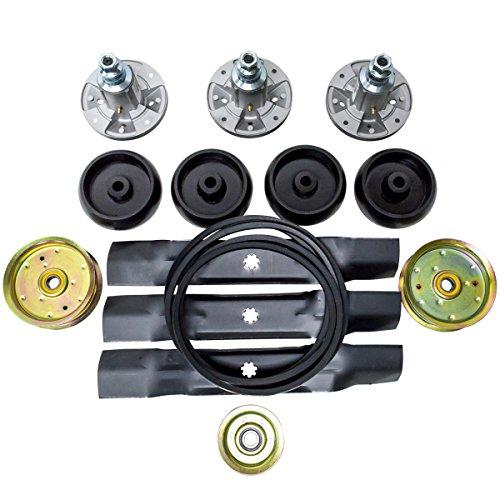 """Deck Rebuild Kit for John Deere 48"""" Lawn Mowers D140, D140, D150, D150, D160, D160, LA130, LA130, LA140, LA140, LA145, LA145, LA155, LA165, LA165, X140, X140, X165, Z245, Z255, 145, 145, 155C, 155C"""