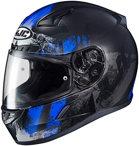 HJC CL-17 Arica Blue/Black Full Face Helmet 0851-2732-07 (Helmet Face Full 09)