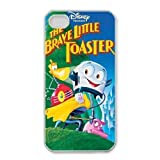 iphone4 4s phone case White Brave Little Toaster QWE7492791