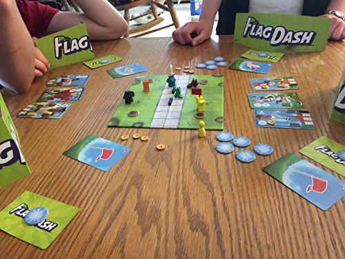 PieceKeeper Games Flag Dash Board Game