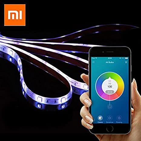 Xiaomi Yeelight 2M 16 Million Colors WiFi Intelligent Scenes Work Original Smart Light Strip RGB COLOR