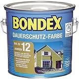 Bondex Dauerschutz-Holzfarbe Schwedenrot 2,50 l - 365233