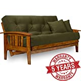 Cheap Nirvana Futons Westfield Futon Frame – Queen Size, Solid Hardwood