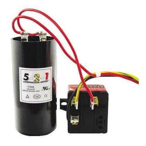 Scroll Compressor Refrigeration (JS-Tecumseh CSR-U1 5-2-1 Compressor)