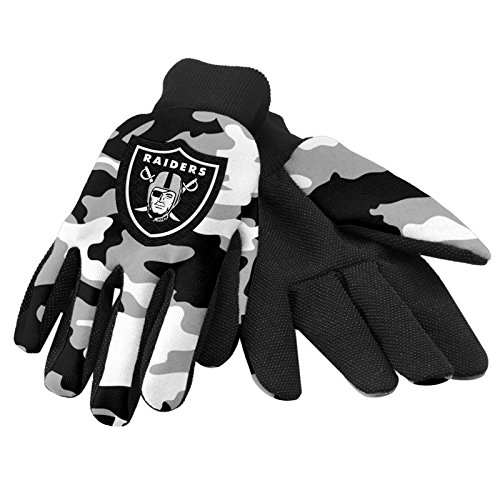 Oakland Raiders Utility Glove - Camouflage ()
