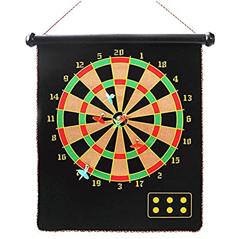 Amazon Com Rettebovon Magnetic Dart Board Game For Kids Adults