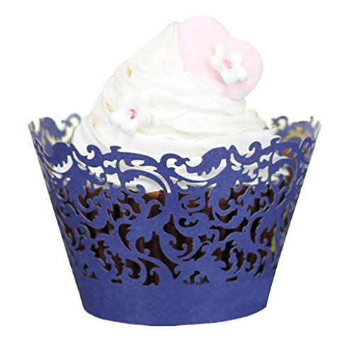 Gotd Halloween Decorations 50pc New! Halloween Lace Laser Cut Cupcake Wrapper Liner Baking Cup Muffin (Halloween Pumpkin Cupcakes Pictures)