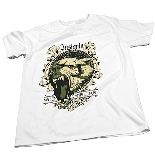 ZDesign Insignia Wolf Canis Lupus   T-Shirt   Größe XS-4XL   Ideales Geschenk