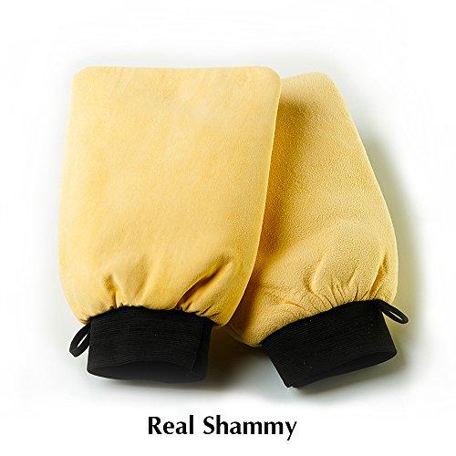 Car Detailing Products Wash Mitt - Polishing Car Wash Gloves - Better Than All Car Detailing Towels - Microfiber Wash Mitt Killer - Shammy Towel For Car - Chamois Leather - Car Wash Mitts - Detailing Jewelry