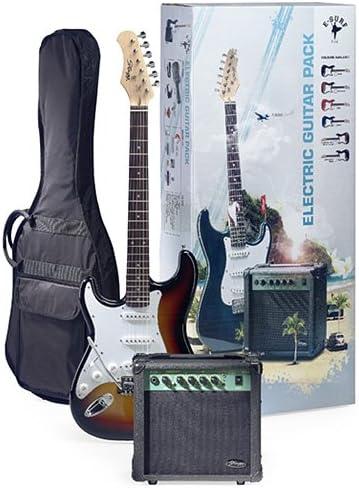 Stagg ESURF 250LHSBEU LH Pack Guitare électrique Standard