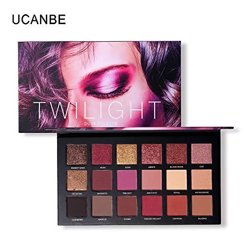 18 Colors Eyeshadow Palette Shimmer Matte Pigmented Pressed Eyes Shadow Makeup Long Lasting Cosmetic (2)